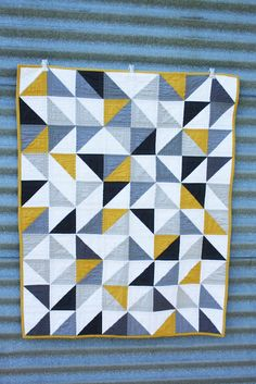 "Quilting inspiration. Quilt by Erica of ""Crafty Blossom"""