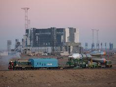 Soyuz TMA-11M Rollout by kazuhito, via Flickr