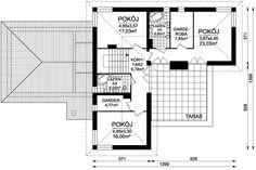 DOM.PL™ - Projekt domu ARD Sosna  - DOM RD1-08 - gotowy projekt domu