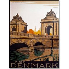 Trademark Fine Art Denmark Canvas Art by Vintage Apple Collection, Size: 16 x 24, Multicolor