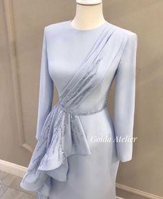 Source by khairiahhamid dresses hijab Hijab Evening Dress, Hijab Dress Party, Evening Dresses, Simple Dresses, Elegant Dresses, Pretty Dresses, Beautiful Dresses, Muslim Fashion, Hijab Fashion