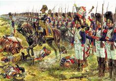 Napoleón envía a la Vieja Guardia