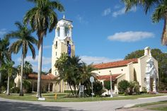 Coral Gables Congregational Church in Miami-Dade County, Florida.