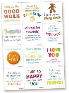 lunch box notes for kids   Notes – printable lunch box notes for kids, romance notes, fun notes ...