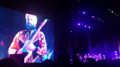 "wait for it.. guitar! Sufjan Stevens teams up & Gallant ""Purple Rain"" at Coachella 2016 (Cover..."