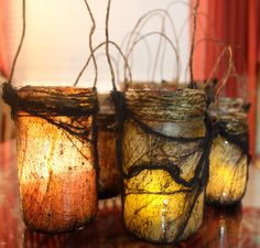 Mason jar Witch Light by AlternateDimensions on Etsy, $20.00