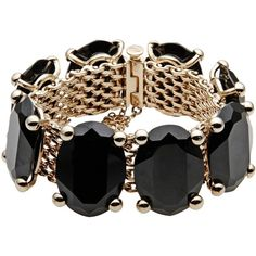 Valentino Garavani Bracelet (1.125 BRL) ❤ liked on Polyvore featuring jewelry, bracelets, accessories, black, valentino jewelry, metal bangles and metal jewelry