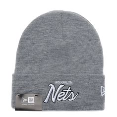 755a6a4ca NBA Nets Cuffed Knit Beanie AAA