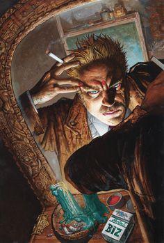 Hellblazer #263 cover by Simon Bisley