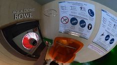 Aqua Dome Bowl Gewitter (Interactive Funnelslide) 360° VR POV Onride Water Slides, Vr, The Creator, Aqua, Thunderstorms, Water