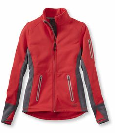 TrioZone Full-Zip Jacket: Casual Jackets | Free Shipping at L.L.Bean.  Good for a running jacket?