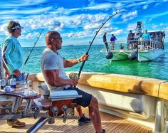 Come to daddy.. sippin' Coronas and catchin' the elusive Woo Woo Shark. #OnSet #BALLERS #Season2 #HBO #Miami by therock