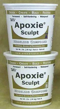 Apoxie Sculpt 4 LB Epoxy Clay Natural by Aves 0 Shrinkage Cracking Ceramic for sale online Do It Yourself Inspiration, Painted Gourds, Paperclay, Gourd Art, Air Dry Clay, Mold Making, Resin Crafts, Gourd Crafts, Plaster Crafts