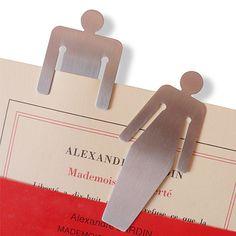 Steel bookmarks - Absolument Design