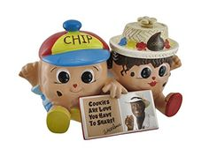 Famous Amos Chip and Cookie Collectible Double Cookie Jar * Read more  at the image link.