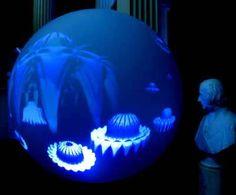 Inflatable Digital Multimedia Display, complete 360 spherical display