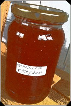 Old Fashioned Marmalade - no rind - flavor cooked using seasoning bag Jam Recipes, Canning Recipes, Jelly Maker, Orange Marmalade Recipe, Chocolate Trifle, Oven Canning, Sauces, Jam And Jelly, Homemade Butter