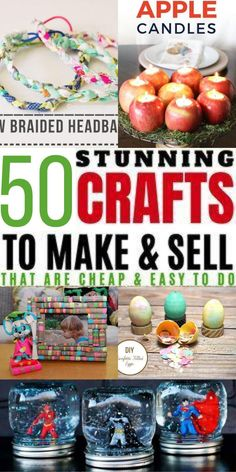 Diy Projects To Make And Sell, Money Making Crafts, Crafts For Teens To Make, Diy Crafts To Sell, Homemade Crafts, Easy Diy Crafts, Fun Crafts, Crafty Craft, Crafting