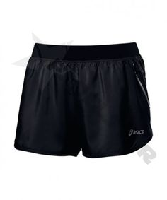 ASICS WOMENS SHORT 3.5-INCH BLACK 110428 0904