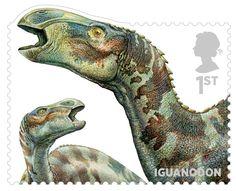 Dinosaur Stamps Issued Oct 2013- Iguanodon