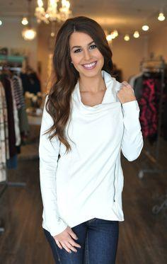 Dottie Couture Boutique - White Side Zip Jacket, $64.00 (http://www.dottiecouture.com/white-side-zip-jacket/)