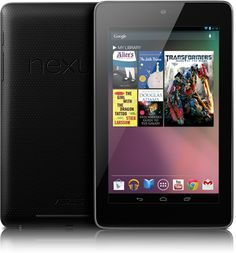 The New Nexus 7 Tablet From Google And Asus - Parameters, Specfications, And Price At $199 / $249 For 8GB / 16GB Storage