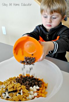 The First Thanksgiving Snack - Stay At Home Educator