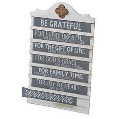 Be Grateful Tiles | $18