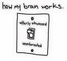 Funny pictures about Pretty much how my brain works. Oh, and cool pics about Pretty much how my brain works. Also, Pretty much how my brain works. Intj Personality, Borderline Personality Disorder, Addictive Personality, Personality Psychology, Adhd Brain, My Brain, Story Of My Life, The Life, Real Life