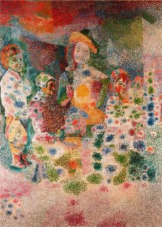 The Happy Family 1917  Pablo Picasso