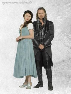 Once Upon a Time   Belle & Rumple by yoyoMonika