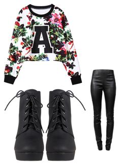 """AAAAA"" by suaveroyalty ❤ liked on Polyvore featuring Alexander Wang"