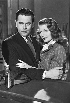 Glenn Ford and Rita Hayworth in GILDA (1946)