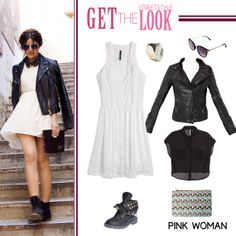 Get the streetstyle look! Shop the outfit at www.pinkwoman-fashion.com