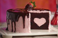 como cortar un pastel segun su forma