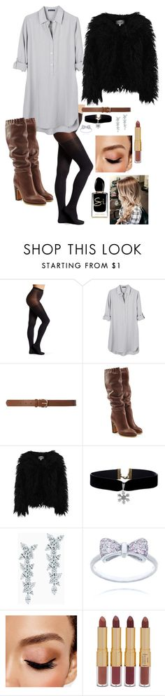 """Untitled #1227"" by stefiilala ❤ liked on Polyvore featuring Hue, United by Blue, Dorothy Perkins, See by Chloé, Dry Lake, Tiffany & Co., Avon, tarte and Giorgio Armani"