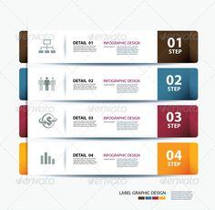 bannières infographiques modèle ensemble | Banner template ...