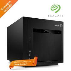 #Seagate NAS RAID 4+ dischi  Il sistema NAS di Seagate è il prodotto ideale per qualsiasi azienda, con l'esigenza di un dispositivo di archiviazione di rete, sicuro ed economico.  Disponibile da 4TB fino a 30TB con sistema RAID a partire da 441,00€ + iva