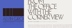 Good design makes me happy: Typeface Love: Landmark