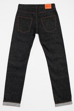 Hiut Denim slim selvedge back - denim jeans designed and made in Wales.