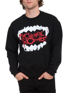 My Chemical Romance Fangs Pullover | Hot Topic <--------- WANT THIS SOOOOOOOOO BAD!!!!!!