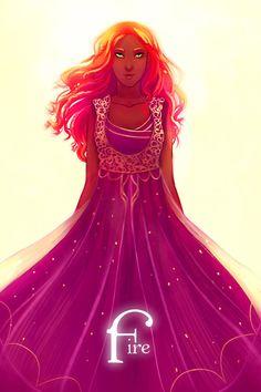 Lady Fire by walkingnorth.deviantart.com on @DeviantArt