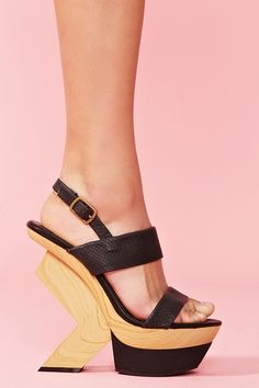 """These are almost exact replicas of United Nude's """"Abstract"""" shoe... but they're cheaper!"""