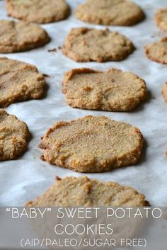"""Baby"" Sweet Potato Cookies (AIP/Paleo/Sugar Free)"
