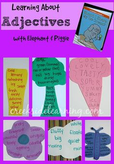 Encouraging kids to be creative writers, inspired by Mo Willems' Elephant and Piggie series.