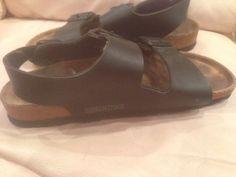 Birkenstock size 38 shoes black $20