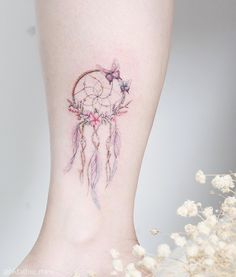 "6,919 Likes, 46 Comments - 紋身師-🌸Mini Lau (@hktattoo_mini) on Instagram: ""🔍🔍Dream catcher"""