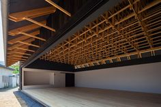Pin by dean baird on timber details архитектура, навес, пави Architecture Design, Timber Architecture, Japanese Architecture, Concept Architecture, Roof Design, Ceiling Design, House Design, Timber Structure, Boxing Club