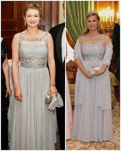 Luxarazzi : Luxarazzi 101: Royal Recycling and Clothes Sharing Revisited-HGD Stephanie and GD Maria-Teresa