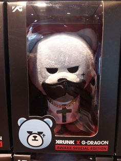 [Special Official Edition] GD G Dragon Bear Doll Krunk Big Bang YG Family